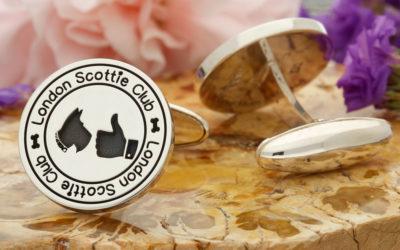 London Scottie Club 5th Anniversary Cufflinks
